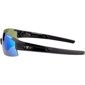 Tifosi Escalate HS Cykelbriller Herrer, gloss black - clarion green/ac red/clear